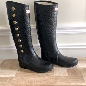 50% off today. Offer and I will accept Hunter Regent Grosvenor Rain Boots